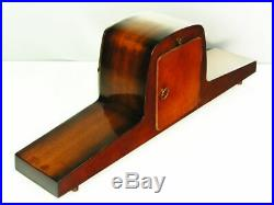 Pure Art Deco Westminster Chiming Mantel Clock Hermle Germany