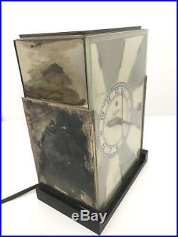 Rare 1930 Paul Frankl Telechron Modernique M-1 Art Deco Clock Runs