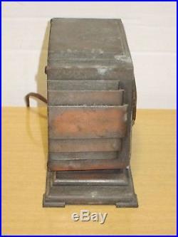 Rare Vintage 1930's Pennwood Numechron Art Deco Copper Case Electric Flip Clock