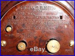 Rare Vintage Art Deco Bakelite 1940's GE Alarm Clock MODEL 7H98 USA