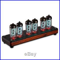 Retro IV-11 / -11 VFD Tube Alarm Clock Large Display NOT Vintage Nixie Clock