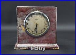 Ruskin Pottery Rare High Fired Clock C1930s