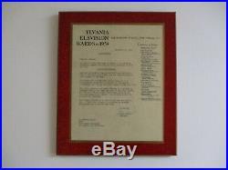 SYVANIA AWARD CLOCK Medallic Art Co. Of New York ART DECO SCULPTURE ANTIQUE OLD