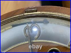 Schatz Art Deco German Triple Chime Mantel Clock