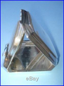 Sterling Silver Tiffany & Company Travel Clock - Octagon Cased-Circa 1915
