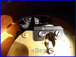 Superb Later Art Deco Junghans Chiming Clock 1950/60s Balance Wheel Bauhaus