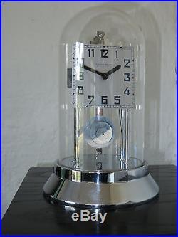 Superbe BULLE CLOCK Art Deco chromée 800 jours collection