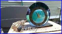 Telechron clocktelechron clock model 4f65 art deco the LUXOR