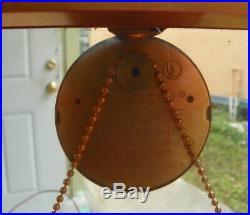 VINTAGE 1960'S JEFFERSON SUSPENSE CLOCK MODEL 580-191 RUNS ART DECO DISPLAY 13in