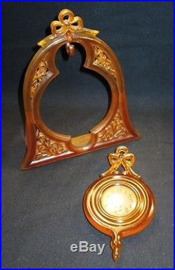 Very Fancy / Unusual Ingraham Bakelite Art Deco Clock 1927 NR