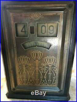 Vintage 1930's GE Telechron Art Deco Bakelite Clock