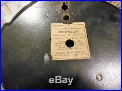 Vintage / Antique Warren Telechron Art Deco Chrome Working Electric Clock USA