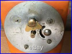 Vintage Art Deco Butterscotch Bakelite Catalin Dominos Clock RARE New Haven