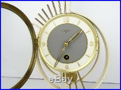 Vintage Art Deco Dutch ORFAC Mantel Shelf Clock (Warmink Junghans Kienzle era)