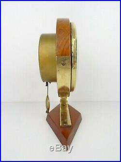 Vintage Art Deco German Luhowa Mantel Shelf Clock (Warmink Junghans Kienzle era)