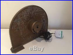 Vintage Art Deco Sectric Smiths Mantle Clock Electric Working PAT Tested