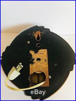 Vintage Art Deco StyVintage Warren Telechron Art Deco Working Clock Model 2H09
