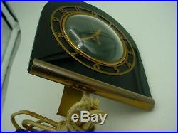 Vintage Art Deco Telechron Shelf / Desk Clock 4h77