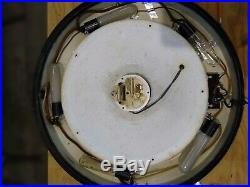 Vintage Hammond 341 illuminated wall clock, art deco, excellent