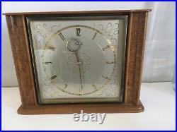 Vintage Rare Keinzle 8 Day Art Deco Mantel Clock