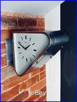 Vintage Seiko Double-Sided Ship's Wall Clock Art Deco style
