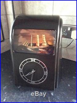 Vitascope Automaton Art deco bakelite rocking ship clock