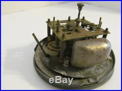Vtg Windsor Gibraltar Aviation Airplane Propeller Art Deco Electric Mantle Clock