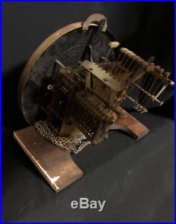 Westminster Whittington Chiming Longcase grandfather Gustav Becker Antique clock