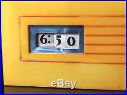 Winslow Manufacturing Art Deco Digital Clock Catalin 1945 Not Working