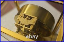 Zz Jaeger LeCoultre ATMOS V Uhr Kaliber 526 original römisches Zifferblatt